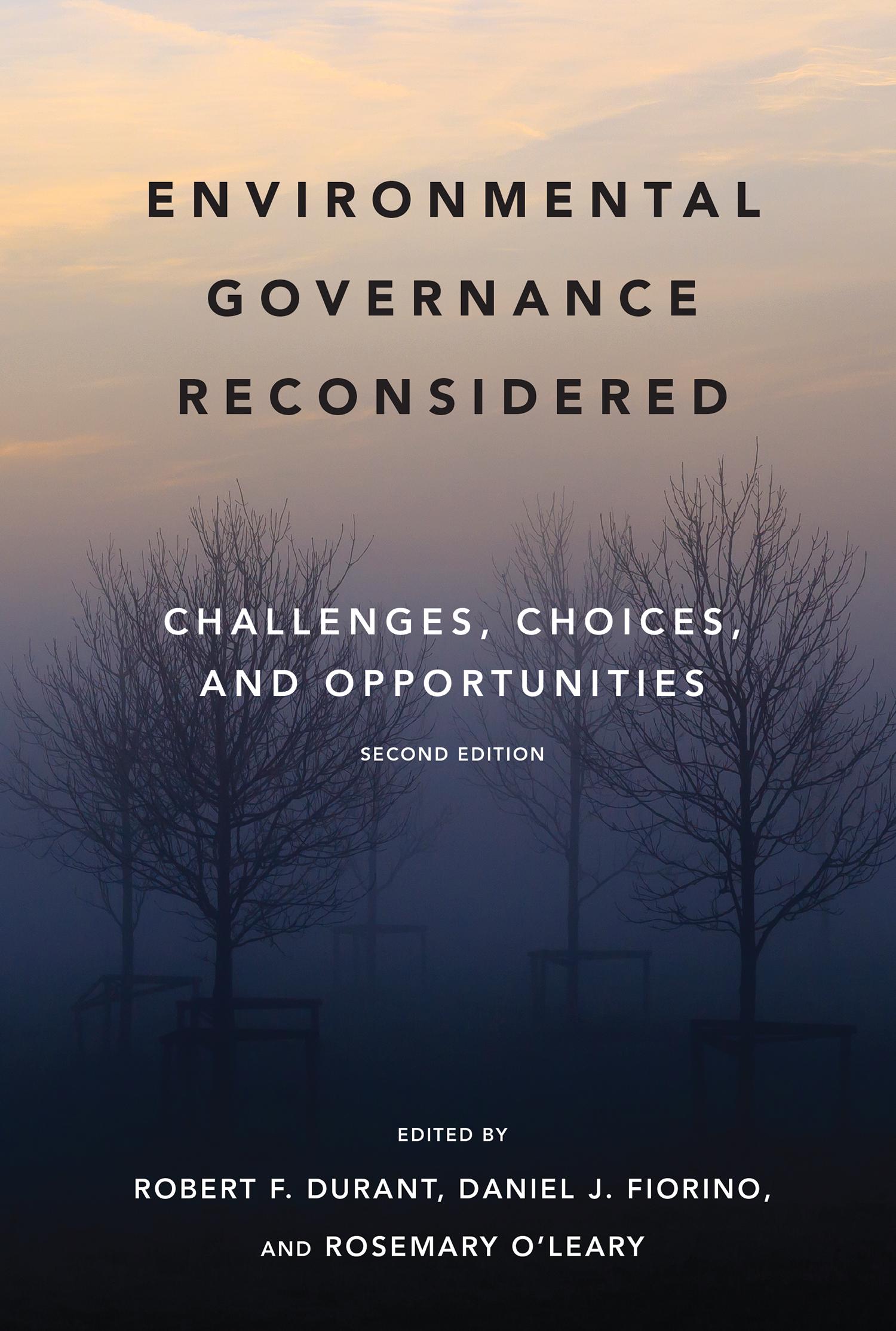 Environmental Governance Reconsidered