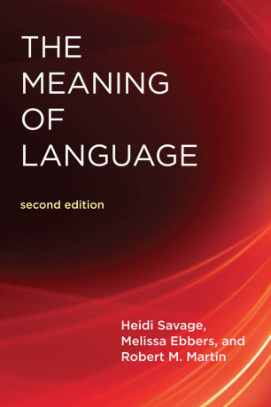The Meaning Of Language, Second