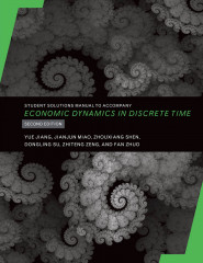 Student Solutions Manual to Accompany Economic Dynamics in Discrete Time, 2e