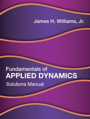 Fundamentals of Applied Dynamics Solutions Manual